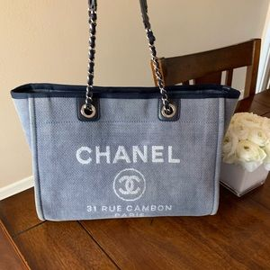 Chanel Deauville Medium Tote